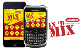 Angostura IN 'D MIX Mobile Applications