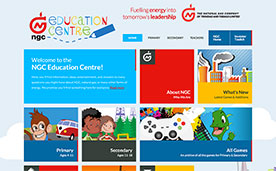 NGC Education Center Website