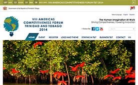 VIII Americas Competitiveness Forum Trinidad & Tobago 2014